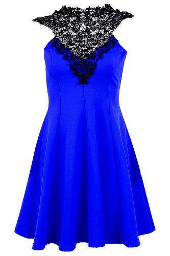 Unbranded by Fantasia -  Vestito  - Donna Blu reale