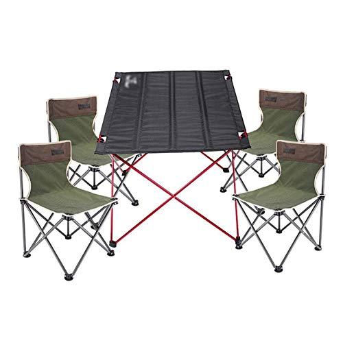 FRQQ Chaise Liegestuhl verfügt über Sonnenliege mit Kopfstütze Strandliege Freizeit Garten Strand Outdoor Klappstuhl, Angelhocker, tragbare einfache, Strand Camping (Color : 1, Size : B) -