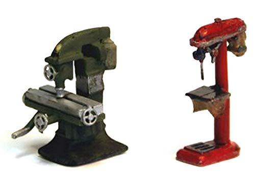 Langley Models industriales fresadora columna taladro