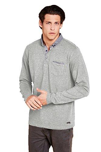 brave-soul-mens-herad-designer-long-sleeve-polo-top-light-grey-marl-medium