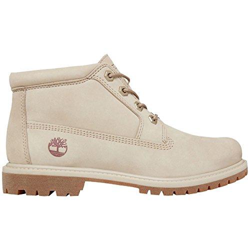 Timberland Damen Nellie Double Collar Chukka Boots, Rosa (Pure Cashmere Waterbuck K51), 40 EU (Timberland Boot-rosa)