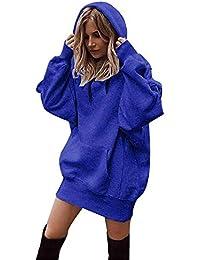 beautyjourney Felpe Donna con Cappuccio Tumblr Ragazza Eleganti Donna Grandi Sweatshirt Donna Tumblr Hoodie Maniche Lunghe - Donna Moda Felpe Cappotto Maglie Donna