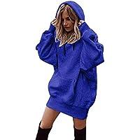Hanomes Damen Mäntel Women Fashion Solid Color Clothes Hoodies Pullover Coat Hoody Sweatshirt preisvergleich bei billige-tabletten.eu