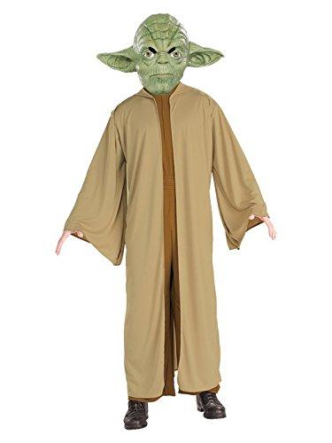 Yoda Herren Kostüm, Größe:XL (Yoda Halloween-kostüm)
