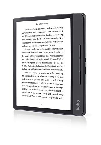 Foto Rakuten Kobo Forma Lettore e-Book Touch Screen 8 GB Wi-Fi Nero