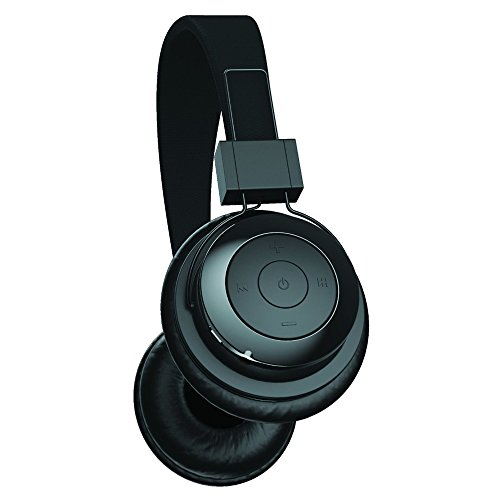 DJTECH Tzumi Bluetooth Stereo Foldable Rechargeable Wireless Headphones  with Powerful Bass - Built in High Definition Microphone and Remote Music