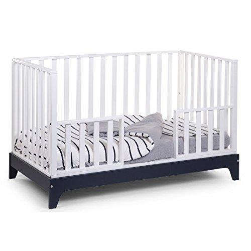 *Hochqualitatives Kinderbett Junior Holz Buche 100% – mitwachsend umbaubar, 148 x 88 x 78cm, Mehrfarbig*