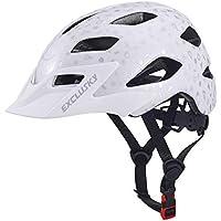Exclusky Kids/Child boys cycle Helmets for Bike Skating Scooter Adjustable 50-57cm(Ages 5-13)