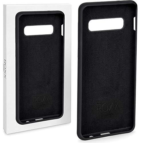 Roxx Hard Case Silikon Hülle | Kompatibel mit Samsung Galaxy S10e | Wie das Original nur Besser | Testsieger Hard Silikon