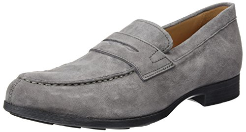 Geox Herren U Besmington G Slipper, Grau (Anthracitec9004), 45 EU