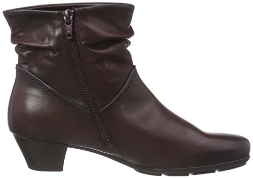 Gabor Shoes 35.637 Damen Kurzschaft Stiefel Rot (wine (Effekt) 25)