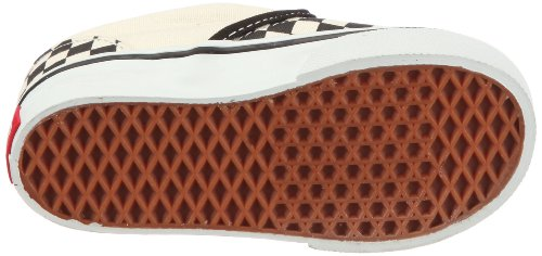 Vans T Classic Slip-on, Baskets mode mixte bébé Blanc (Black And White Checker/White)