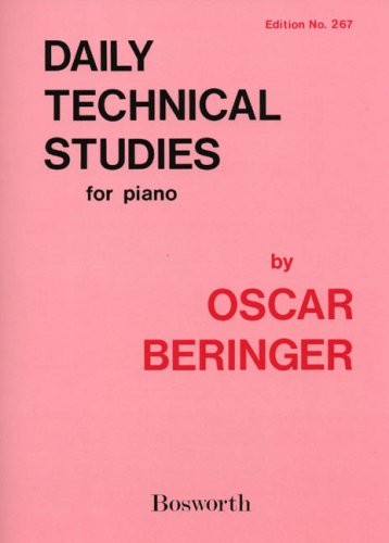 Daily Technical Studies - Piano