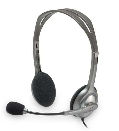 Price comparison product image Logitech Stereo Headset with Noise-Canceling Microphone - H110