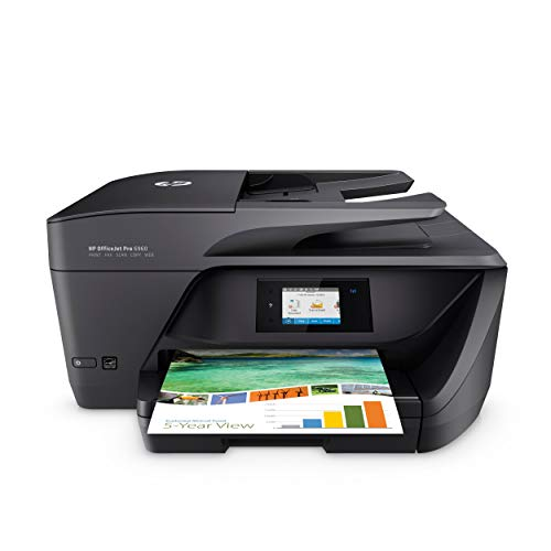 HP OfficeJet Pro 6960 Multifunktionsdrucker (Instant Ink, Drucker, Scanner, Kopierer, Fax, WLAN, LAN, Airprint) mit 3 Probemonaten HP Instant Ink inklusive (Hp Drucker 6500)
