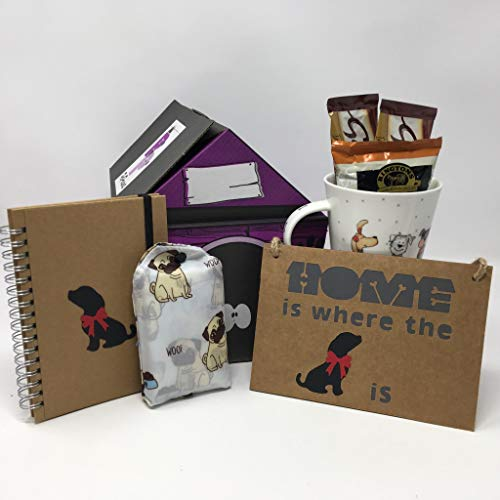 Pet Presents The Home Is Where The Dog Is Gift Hamper for Dog Lovers