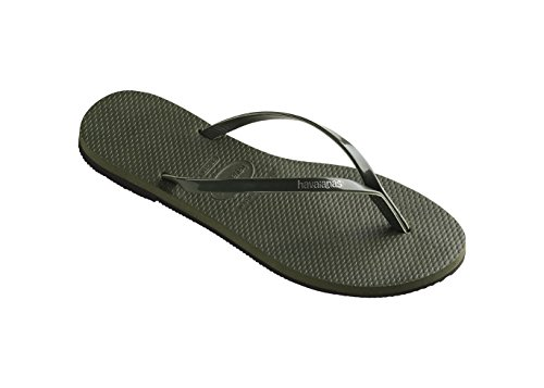 Havaianas Flip Flops H.You Metallic Olive Green Vert