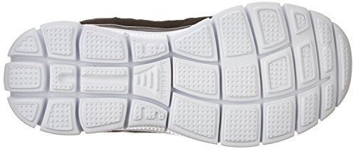 Skechers Flex Advantage, Chaussures de sports en salle garçon Noir (Bkw)