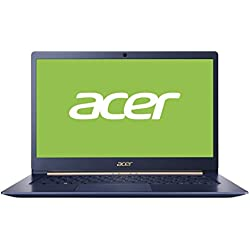 "Acer SF514-52T Swift 5 - Ordenador portátil 14"" táctil FullHD IPS (1kg, Intel Core i5-8250U, 8GB RAM, 256GB SSD, Windows 10 Home), Azul - Teclado QWERTY Español"