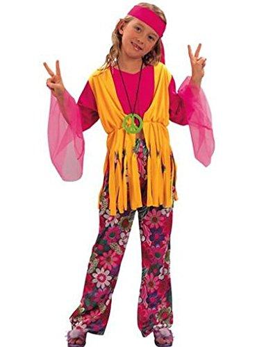 Fyasa 701358-t03Hippie Girl Kostüm, Mittel