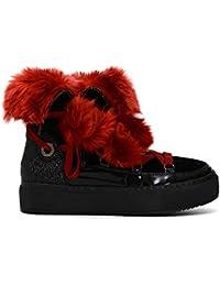 Y es Pompones Zapatos Amazon Terciopelo Complementos Zapatos q7Xxgffw8