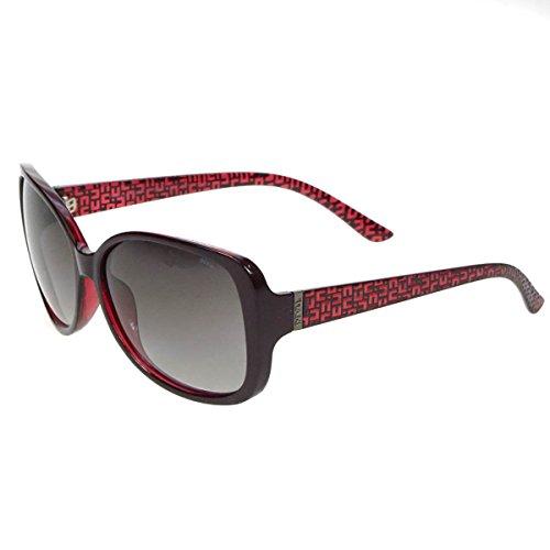 INVU Polarisierte Sonnenbrille B 2628C Bordeaux Polarisierende Gläser 100% UV polarisierte Sonnenbrille