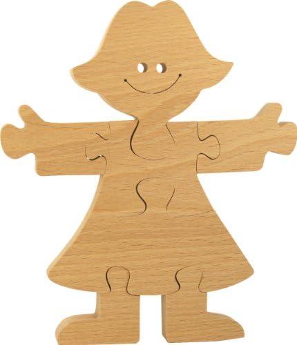 MUSIKID MUSIKID MUSIKID Puzzle à peindre bois enfant. Puzzle princesse loisirs créatifs 100% hêtre. Fabriqué Europe | Soldes  c3070e