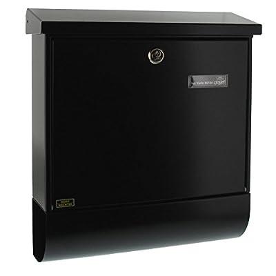BURG-WÄCHTER, Briefkasten-Set mit Zeitungsbox A4 Einwurf-Format, Verzinkter Stahl, Set Vario