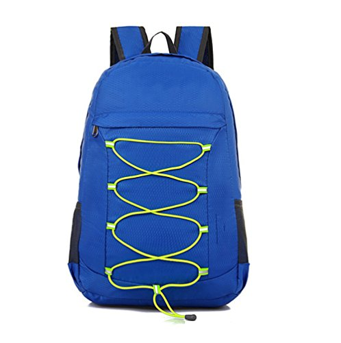 Ruanlei @ tela casual zaini viaggio/ laptop backpack / multifunzione zaino business/ backpack resistente all'acquail multi-purpose outdoor travel double borsa a tracolla, blu