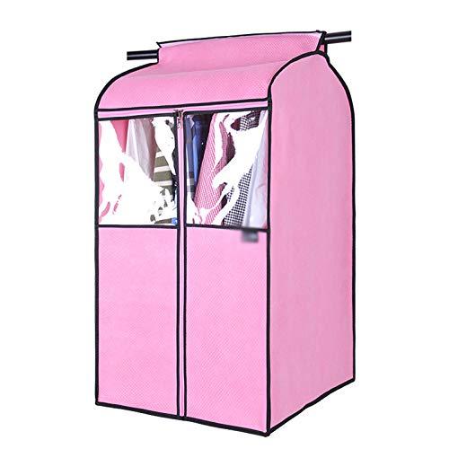 QFFL Sac de compression sous vide Vêtements pare-poussière, sac à poussière suspendu vêtements, rides résistant à l'humidité des ménages 3 couleurs Sac de protection