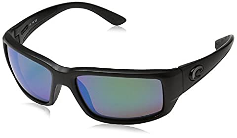 Costa Del Mar Fantail Blackout Green Mirror 580 Polarized Sunglasses