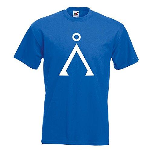 KIWISTAR - Stargate T-Shirt in 15 verschiedenen Farben - Herren Funshirt bedruckt Design Sprüche Spruch Motive Oberteil Baumwolle Print Größe S M L XL XXL Royal