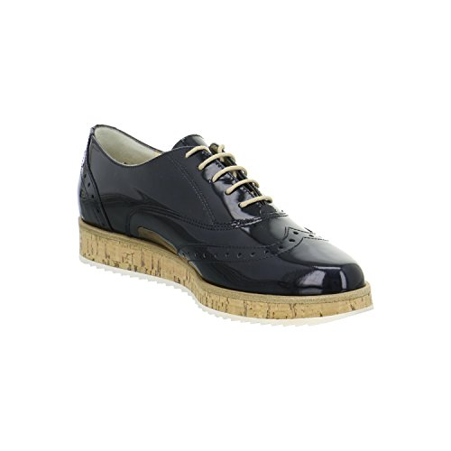 Paul Green 1088059, Scarpe stringate donna Blau