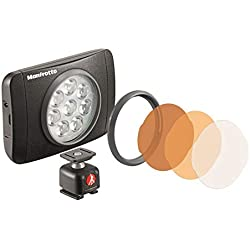 Manfrotto LED Light with Lumimuse, 8 LED, Black