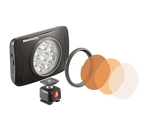 Oferta de Manfrotto Lumimuse 8 LED, color negro