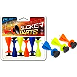 Petron Sports Sureshot Spare Sucker Darts, Orange/Black by Petron Sports