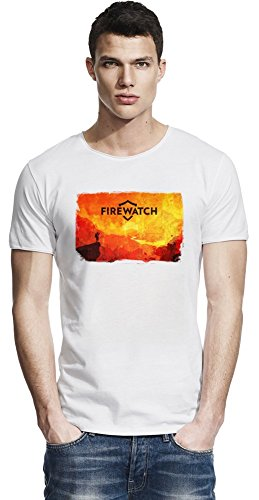 Red Firewatch Raw Edge-T-Shirt X-Large
