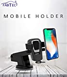Fabtec Car Mobile Holder for Car Dashboard & Windshield Mobile Stand Mount Car