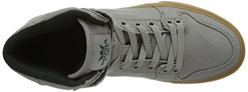 Supra Vaider, Sneakers Hautes mixte adulte Gris (STORM GREY - GUM GRY)