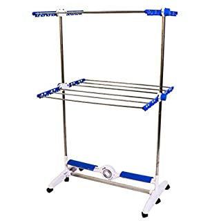 High Street TV Clothes Drying Rack, Blue, Large