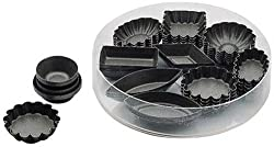 Paderno World Cuisine Petit Fours Non-Stick Molds PTFE and PFOA-Free Set of 24