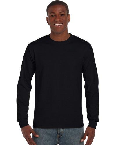 Preisvergleich Produktbild Ultra Cotton Classic Fit Adult T-Shirt - Farbe: Black - Größe: M