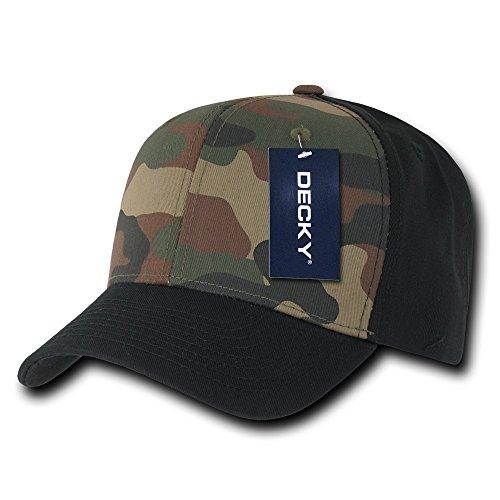 Decky Cotton Curve Bill Snap Back Baseball Cap