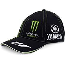 Monster Tech3 Monster – Gorra para Hombre, Negro/Verde, FR: Adulto (