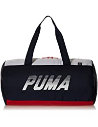 Puma 25 Ltrs Peacoat and Barbados Cherry Gym Bag (7415302)