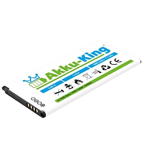 Akku-King Batteria per Samsung Galaxy Alpha SM-G850, SM-G8508, SM-G8508S, SM-g8509v - Sostituisce la EB-BG850BBC, EB-BG850BBE - Li-Ion 1860 mAh
