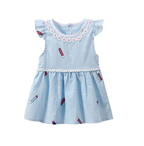 Aoweika Kleinkind Baby Kind Mädchen Kurze Ärmel Newborn Tutu Prinzessin Kleid Prinzessin Party Pageant Kleider Kinder Kleidung Kleid