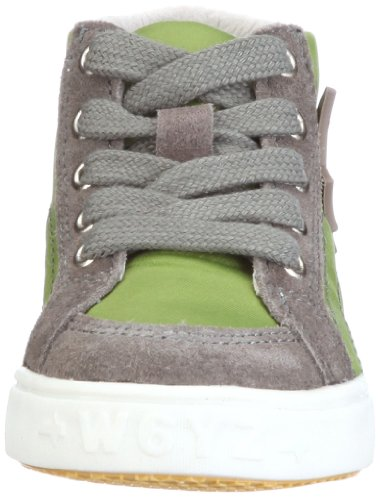 Wyzz Wade 2500504, Chaussures basses mixte enfant Grau (GRIOGIO-VERDE)
