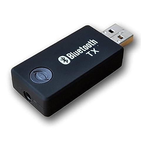 Transmetteur Bluetooth, Upintek Transmetteur de Musique Stéréo Portable Sans fil
