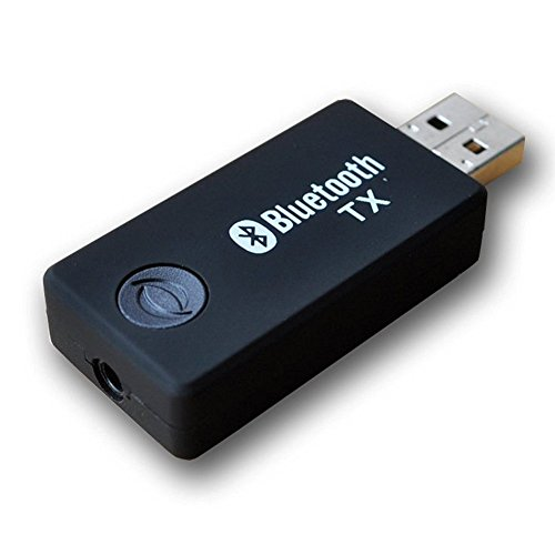 Bluetooth Transmitter, Upintek drahtloser beweglicher Stereomusik -Sender für 3,5 mm (oder RCA) Audiogeräte TV, Kopfhörer, PC, Laptop, Tablet, MP3 / MP4, iPod, Media-Player